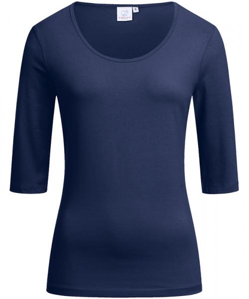GREIFF Damen-Shirt Rundhals 1/2 marine Blusen/Hemden/Strick 6680.1405.20 6680 1405 Shirt
