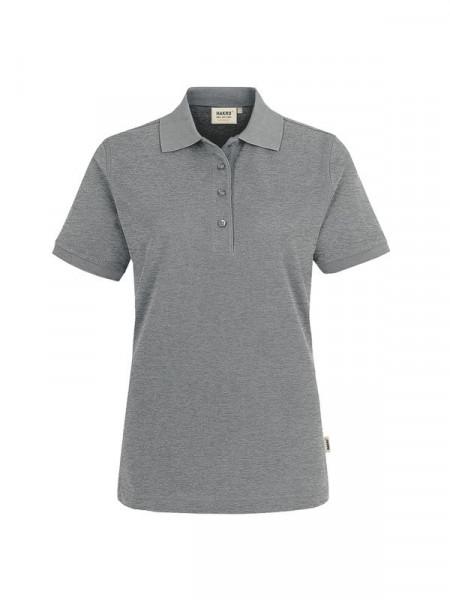 Hakro Damen-Poloshirt Performance grau meliert 0216-015
