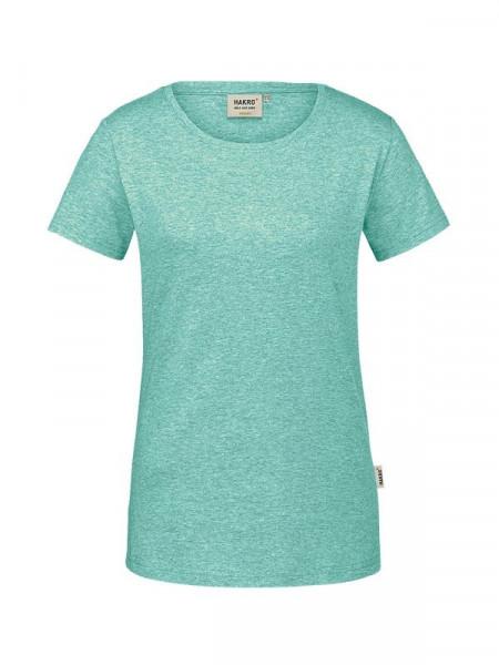 Hakro Damen-T-Shirt GOTS-Organic minze meliert 0171-326