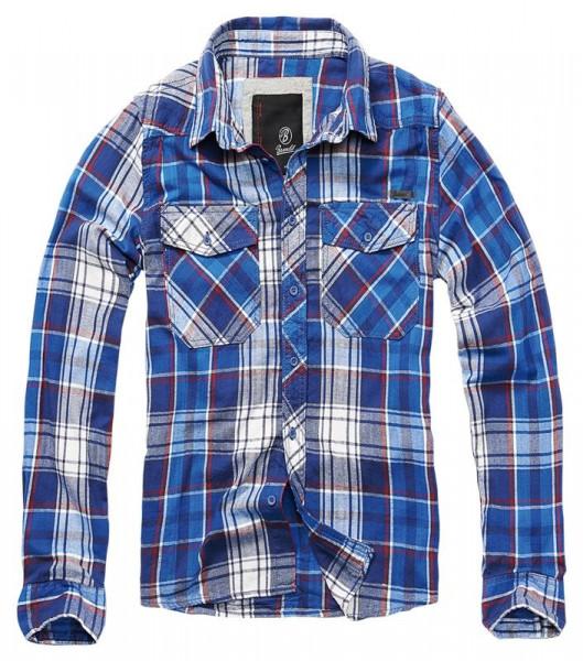 BRANDIT, Checkshirt, navy / 4002