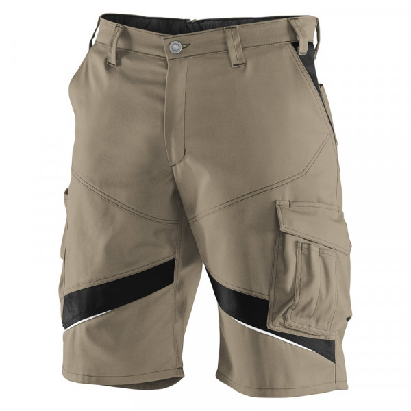 KÜBLER ACTIVIQ Shorts sandbraun/schwarz, 24505365