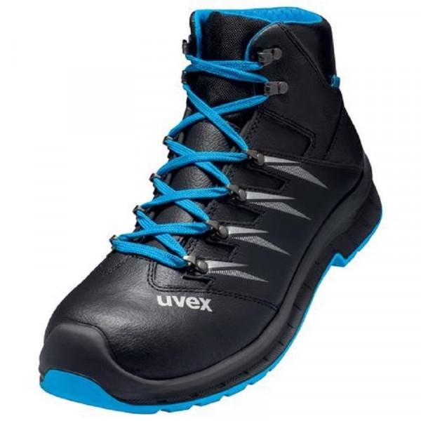 UVEX, 2 trend Sicherheitsschuh S3 Stiefel Weite 11 blau / 69352