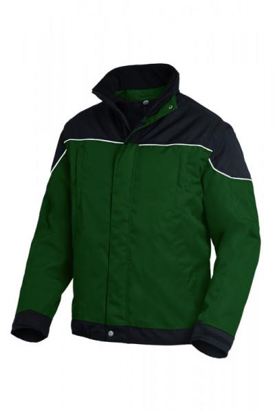 FHB TOM Arbeitsjacke 2 in 1, grün-schwarz