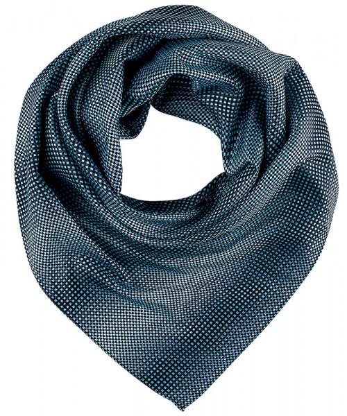 GREIFF Tuch gewebt blau/grau kariert Accessoires 6901.9800.523 6901 9800 Accessoires