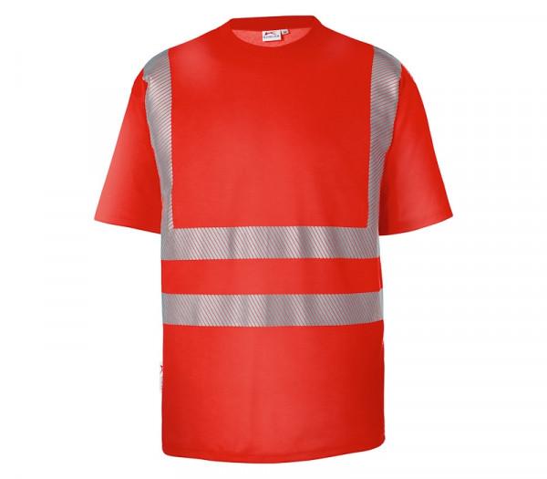 KÜBLER REFLECTIQ T-Shirt warnrot 5043