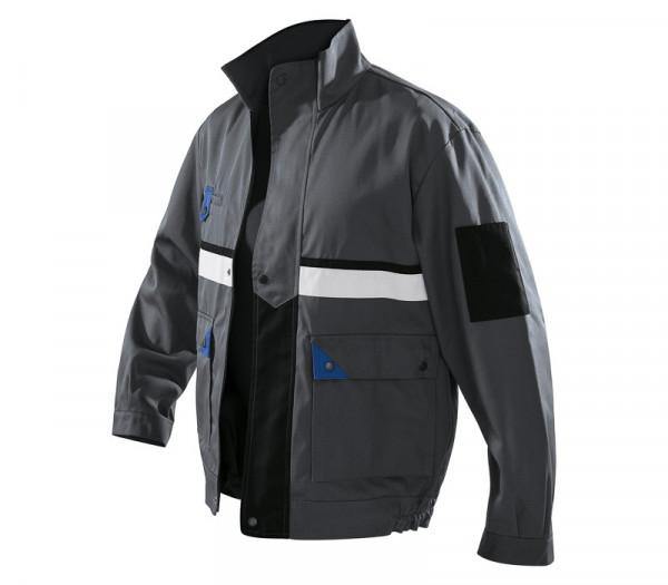 KÜBLER BRAND X Jacke anthrazit/kbl.blau, 11135803