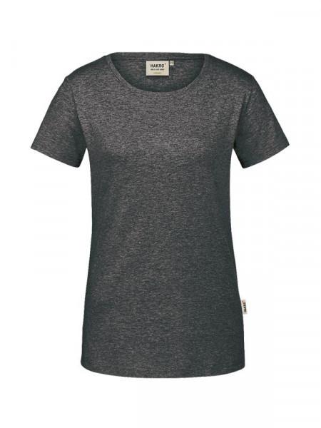 Hakro Damen-T-Shirt GOTS-Organic anthrazit meliert 0171-328
