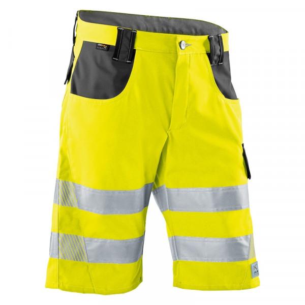 KÜBLER PSA REFLECTIQ Shorts warngelb/anthrazit, 23078340