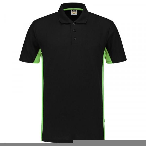TRICORP, Poloshirt Bicolor, Blacklime, 202004