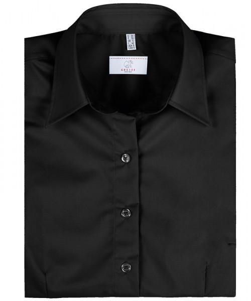 GREIFF, Damen-Bluse 1/2 Regular F/schwarz Art.Nr.6