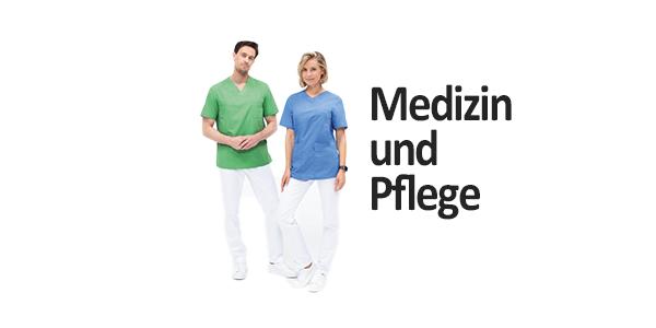 Berufsbekleidung für Medizin und Pflege