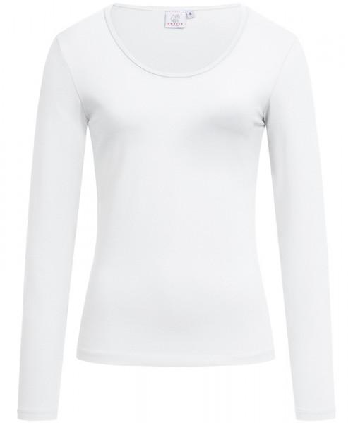 GREIFF, Damen-Shirt Rundhals 1/1/weiss Art.Nr.6860