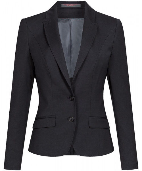 GREIFF Damen-Blazer Slim Fit schwarz Corporate Wear 1426.2820.10 1426 2820 Blazer