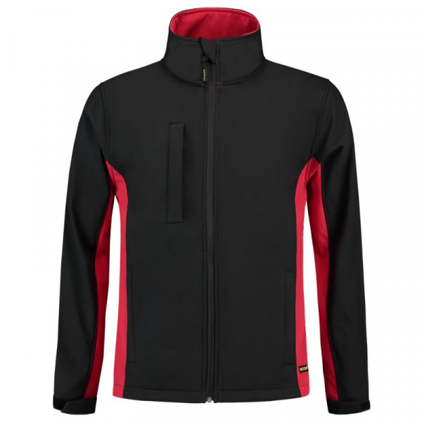 TRICORP, Softshelljacke Bicolor, Blackred, 402002