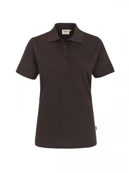 Hakro Damen-Poloshirt Performance schokolade 0216-022