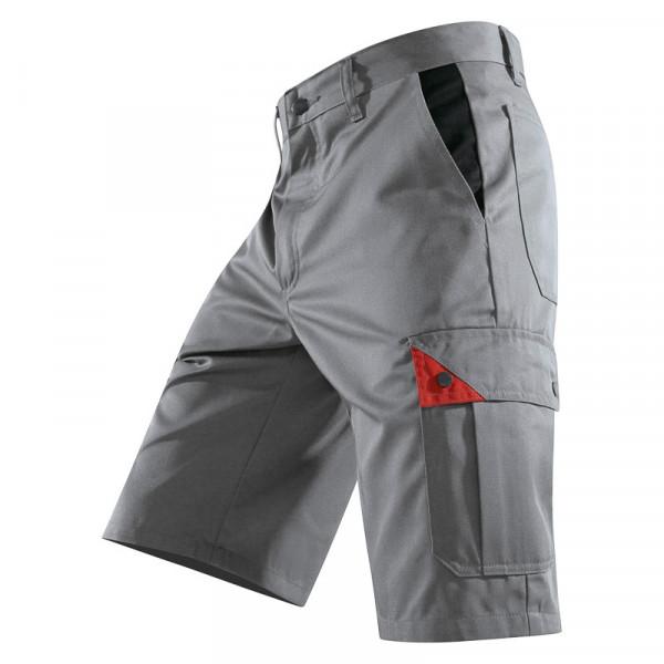 KÜBLER BRAND X Shorts grau/rot, 50815803