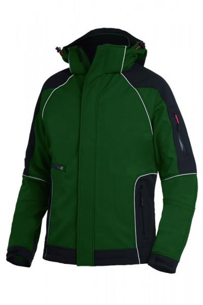 FHB WALTER Softshelljacke, grün-schwarz