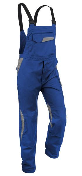 KÜBLER VITA cotton+ Latzhose kbl.blau/mittelgrau, 3L473421
