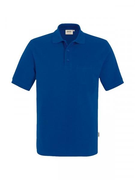 Hakro Pocket-Poloshirt Performance ultramarinblau 0812-129