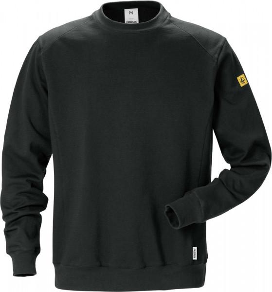 Kansas ESD Sweatshirt 7083 XSM Schwarz 125037-940