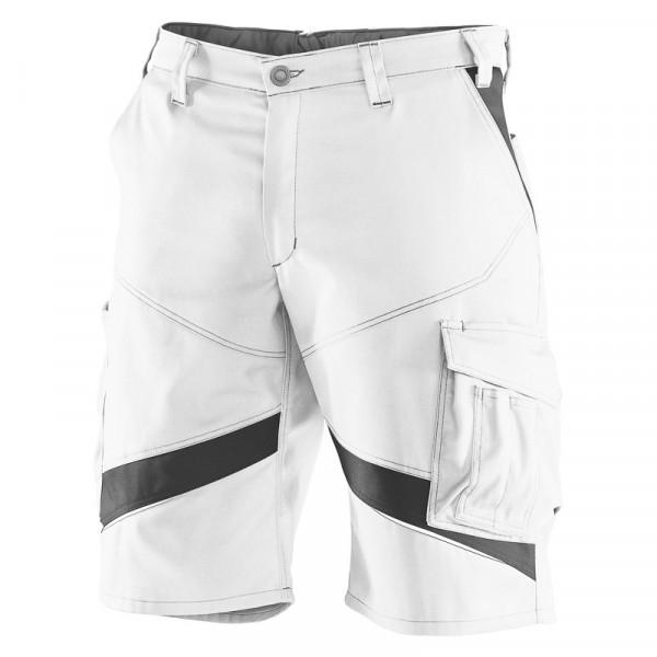 KÜBLER ACTIVIQ Shorts weiß/anthrazit, 24505365