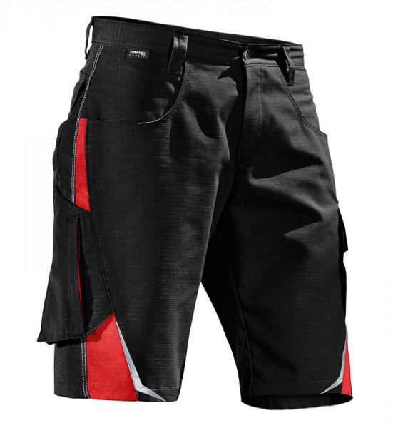 KÜBLER PULSSCHLAG Shorts schwarz/mittelrot, 25245353