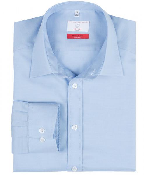 GREIFF, Herren-Hemd 1/1 Regular F/bleu Art.Nr.6727