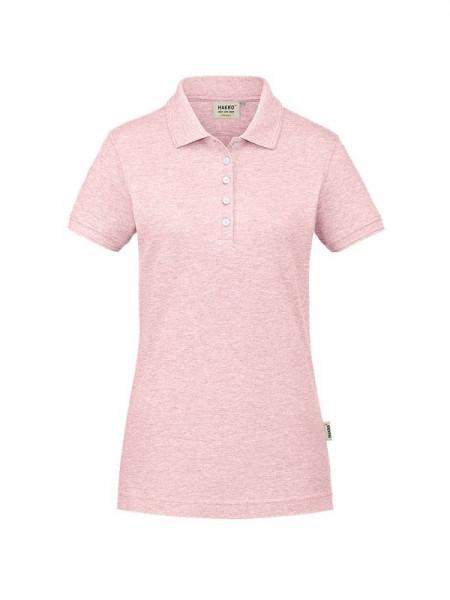 Hakro Damen-Poloshirt GOTS-Organic rosa meliert 0231-327