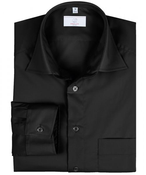 GREIFF Herren-Hemd 1/1 Regular F schwarz Blusen/Hemden/Strick 6665.1120.10 6665 1120 Hemd