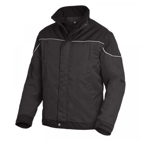 FHB TOM Arbeitsjacke 2 in 1, anthrazit-schwarz