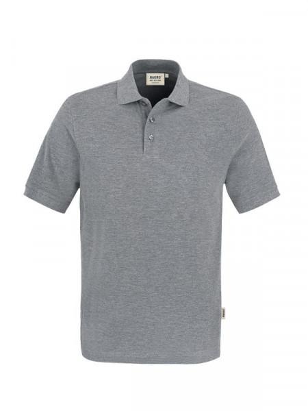 Hakro Poloshirt Classic grau meliert 0810-015