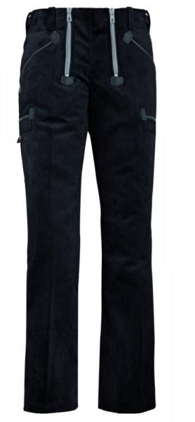 FHB GRETA Damen-Zunfthose Genuacord, schwarz
