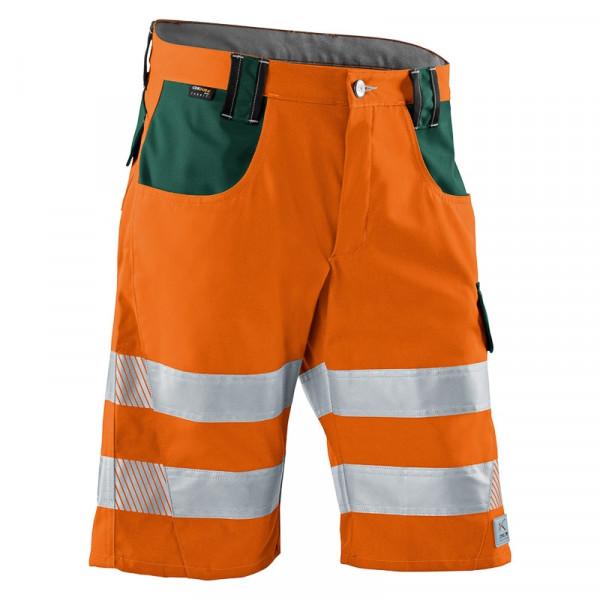 KÜBLER PSA REFLECTIQ Shorts warnorange/moosgrün, 23078340