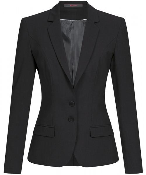 GREIFF Damen-Blazer Slim Fit schwarz Corporate Wear 1411.666.110 1411 666 Blazer