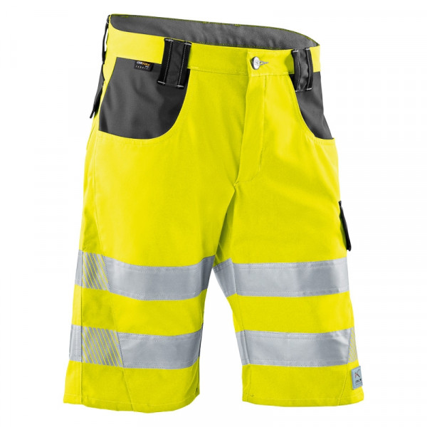 KÜBLER PSA REFLECTIQ Shorts warngelb/anthrazit, 23078340