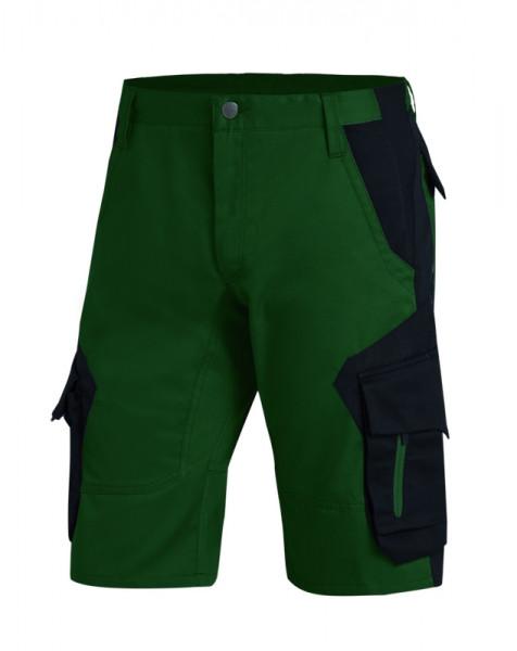 FHB WULF Bermuda , grün-schwarz