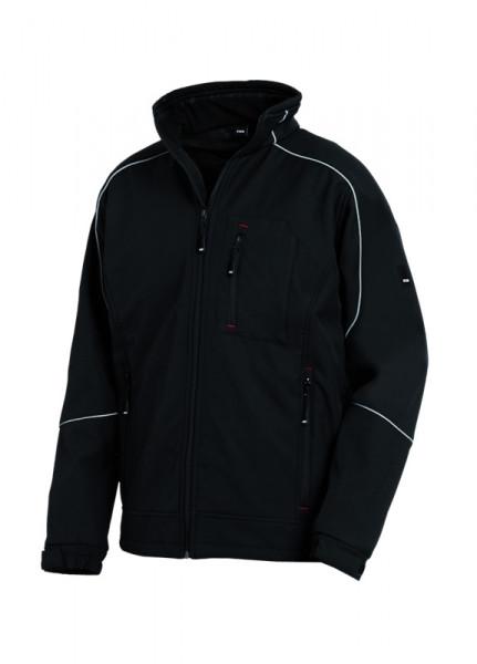 FHB DIRK Softshell-Jacke, schwarz