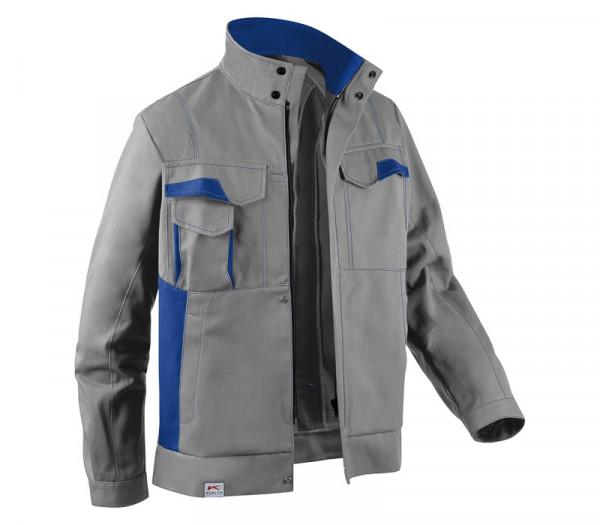 KÜBLER IMAGE DRESS NEW DESIGN Jacke mittelgrau/kbl.blau, 13453411
