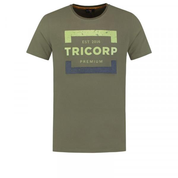 TRICORP, T-Shirt Premium Herren, Army, 104007