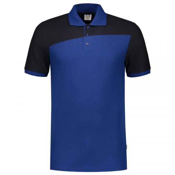 TRICORP, Poloshirt Bicolor mit Quernaht, Royalnavy, 202006