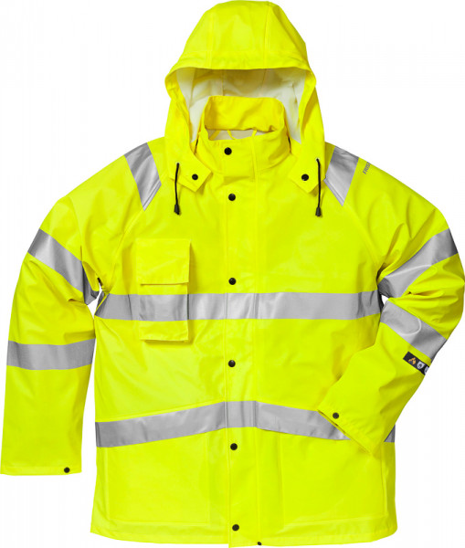 Kansas FLAME HIGH VIS REGENJACKE KL. 3 Gelb 101038