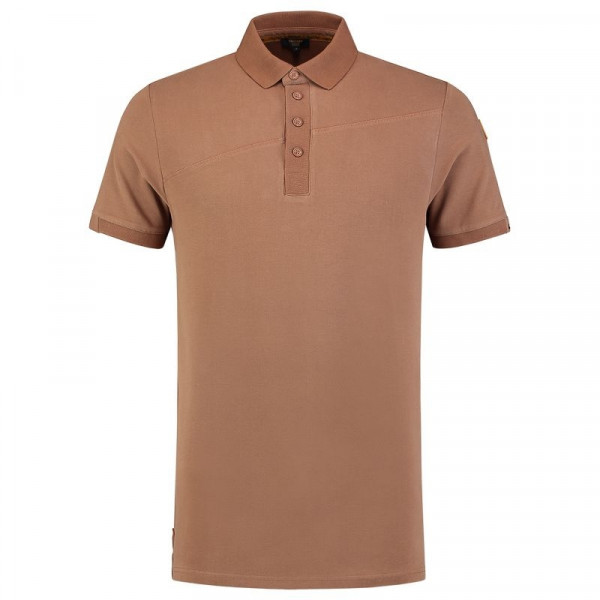 TRICORP, Poloshirt Premium Quernaht, Bronzbrown, 204002
