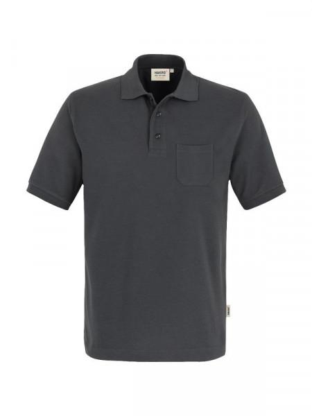 Hakro Pocket-Poloshirt Performance anthrazit 0812-028