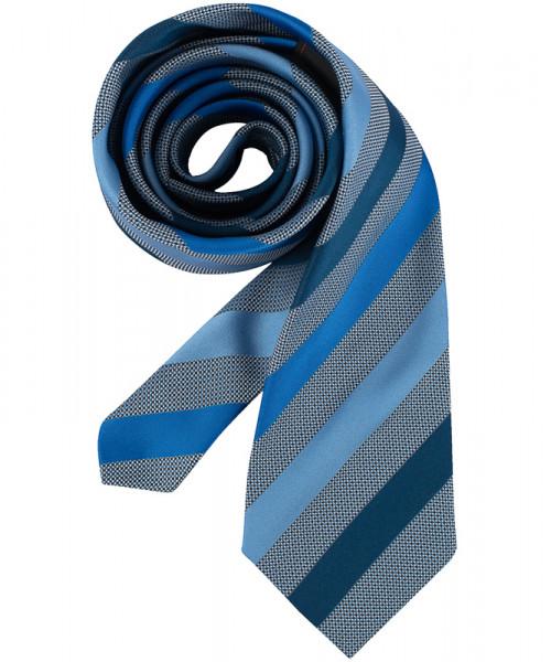 GREIFF Krawatte dunkelblau gestreift Accessoires 6900.9700.722 6900 9700 Krawatte