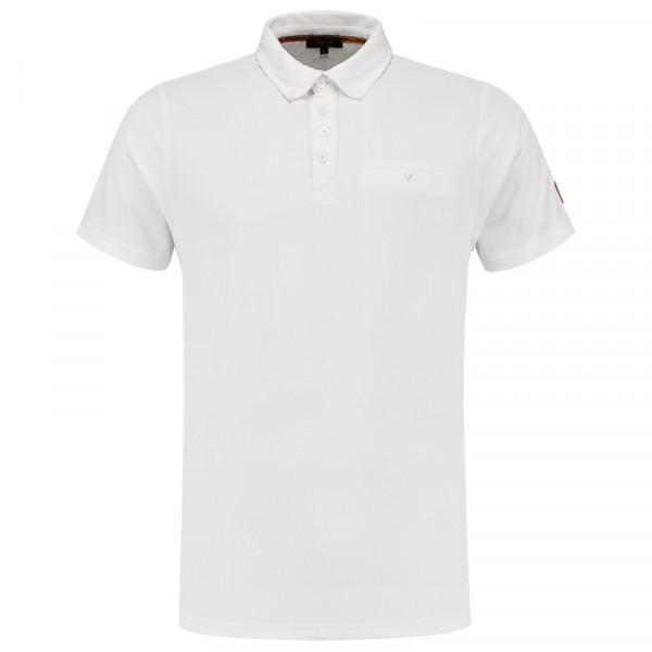 TRICORP, Poloshirt Premium Button-Down-Kragen, Brightwhit, 204001