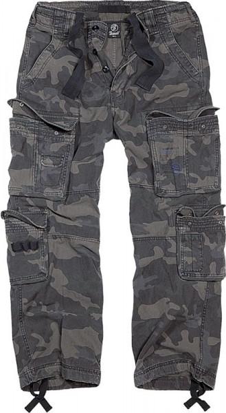 BRANDIT, Pure Vintage Trouser, darkcamo / 1003