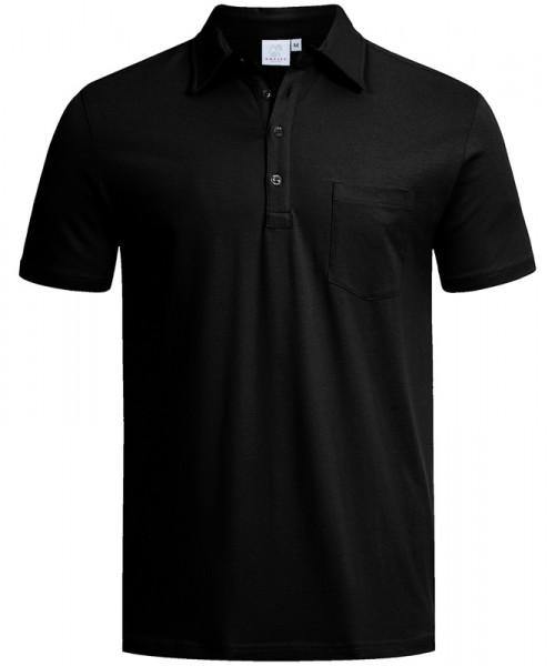 GREIFF, Herren-Poloshirt kurzarm/schwarz Art.Nr.66