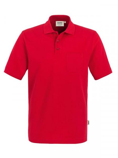 Hakro Pocket-Poloshirt Top rot 0802-002