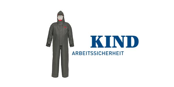KIND Chemikalienschutz-Overall für extreme Bedingungen