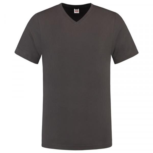 TRICORP, T-Shirt V-Ausschnitt Slim Fit, Darkgrey, 101005